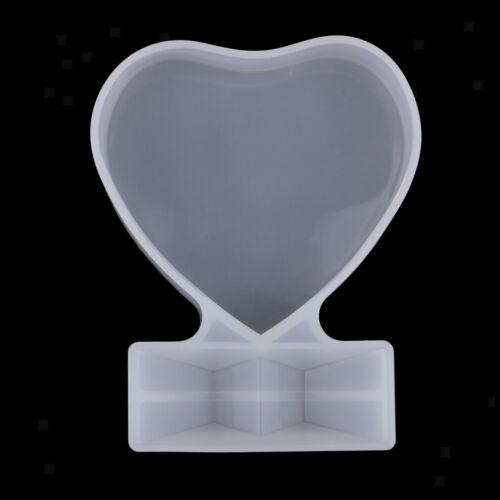 Liebe Herz Bilderrahmen Form Silikonform Kuchen Dekore Form DIY Handwerk