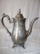 "ONEIDA ""Du Maurier"" Classic Vintage  TEA Pot  SILVER Plate (BO-13)"