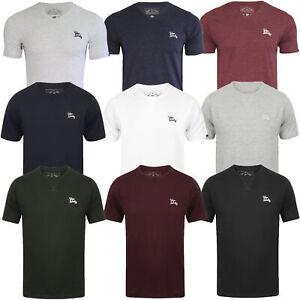 7cf96c8a82f9 Mens Tokyo Laundry 3 Pack Plain Combed Cotton T-Shirt Top Plain Mix ...