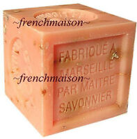 3 Savon De Marseille French Provence Crushed Orange Flower Soap Handmade 300g