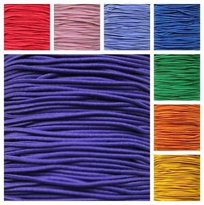 1mm-Round-Elastic-Cord-x-2-5-or-10-Metres-Bracelet-Hat-Huge-Choice-of-Colours