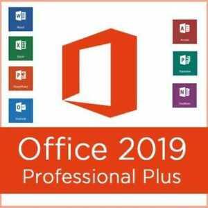 Microsoft Office 2019 Professional Plus 64bit 32bit License Key Trusted Ebay