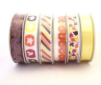 American Crafts 89376 Value Pack Premium Ribbon 24 Spools -.375 in. x 4 Feet Each-Seasonal 1 Craft Supplies