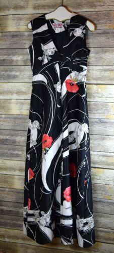 Vintage Hawaiian Fashions Full Length Romper Wide
