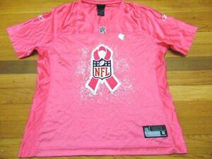 the best attitude 4e54b 62821 Details about WOMEN'S REEBOK NFL NFL SAN FRANCISCO 49ERS COLIN KAEPERNICK  PINK JERSEY SIZE L