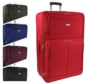 Large/Extra Large Lightweight Luggage Trolley Suitcase Travel Bag ...
