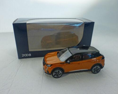 1:64 Peugeot 2008 NOREV orange 2019