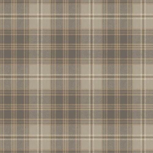 Regent/'s Glen Plaid Wallpaper ML1225 designer tartan grey unpasted