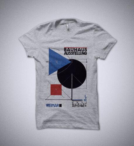 Bauhaus art t-shirt Herbert Bayer shirt Weimar 1923 Bauhaus movement shirt