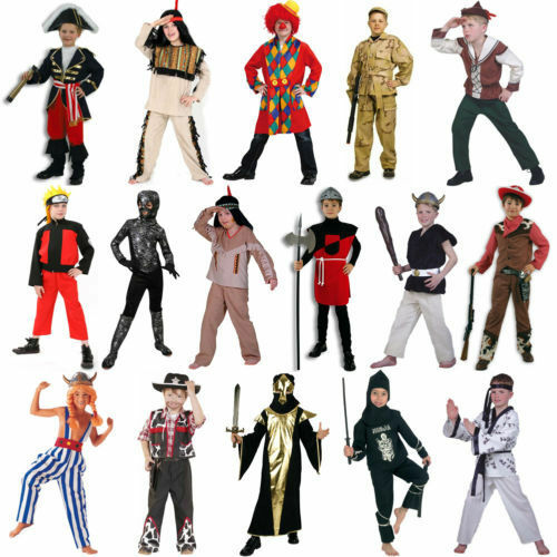 Boys Costume CARNEVAL Carnival Fancy Dress Size 104-164 NEW