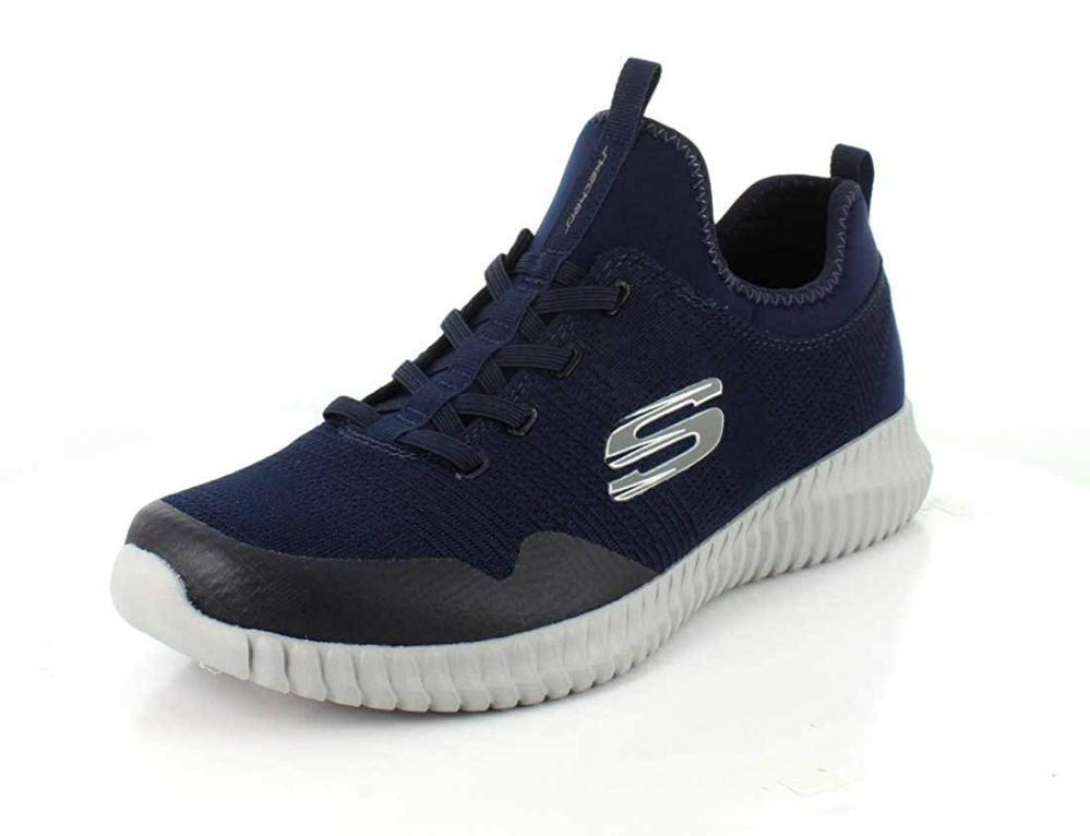 Skechers Mens Elite Flex Lasker Gym Comfort Walking Jogging Casual Sneakers