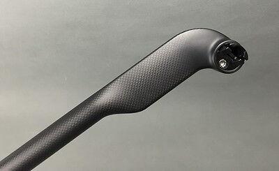 Carbon offset 25° MTB XC Road Bike Racing Seat Saddle post blade Seatpost tube