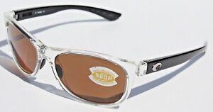 9f0541216566 COSTA DEL MAR Prop 580P POLARIZED Sunglasses Black Pearl/Amber 580 ...