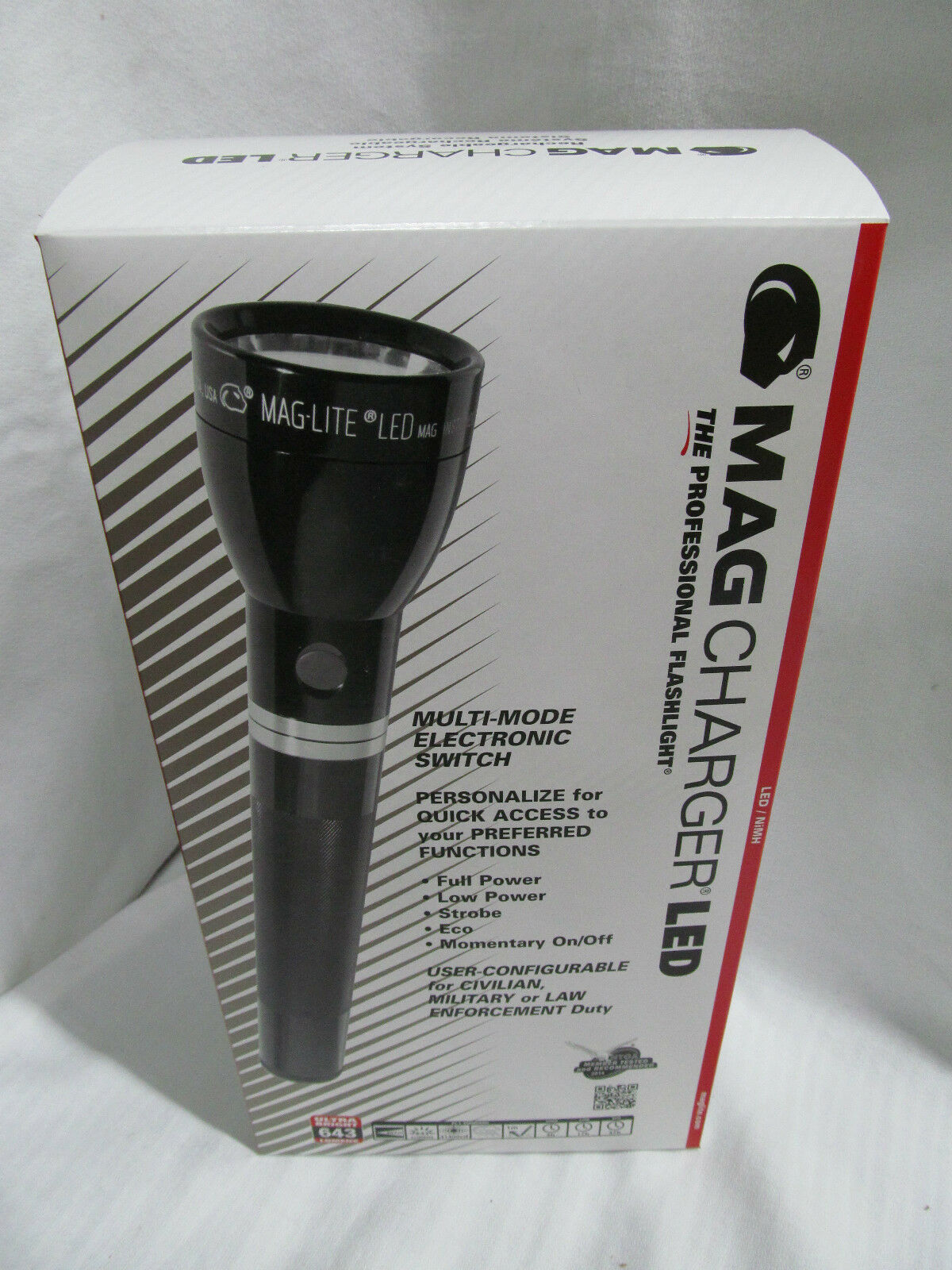 Maglite RL1019 MagCharger  LED Industrial Flashlight AC DC Rechargeable ZZ030504  save up to 30-50% off