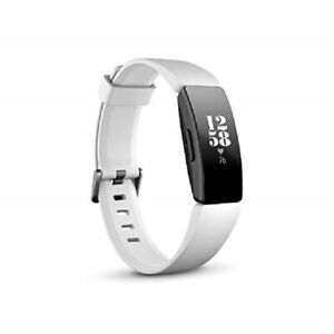 Fitbit FB413BKWT Inspire HR Heart Rate & Fitness Tracker, White/Black (Heart