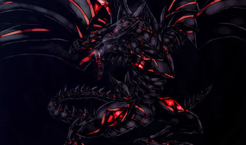 D401 Yu-Gi-Oh Trading Card Game Playmat Red-Eyes Darkness Dragon Play Mat