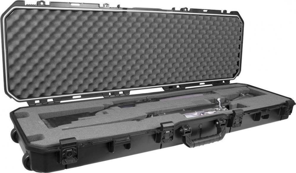 Plano PLA11852 todo tipo de clima caso, Doublex 40mm Rifle Escopeta, Negro, 52