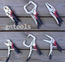 3PC Mini Locking Mole Grip Pliers Clamp Welding Tools Soft Grip Craft Hobby