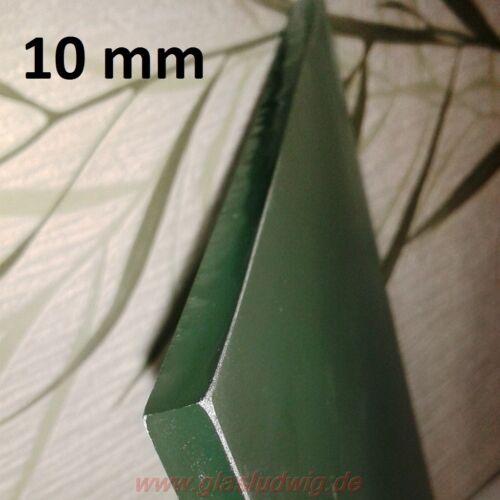 246,70€//m² GLASPLATTE Satiniert 10 mm SICHERHEITSGLAS undurchsichtig poliert