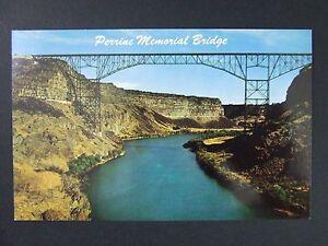 Twin Falls Idaho Id Perrine Bridge Snake River Hwy 93 Vintage