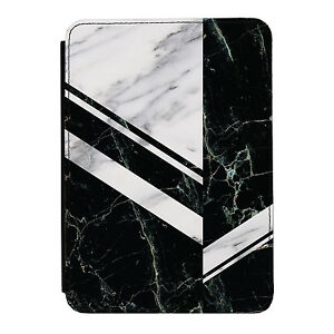 Black-amp-Grey-Zig-Zag-Marble-Kindle-Paperwhite-Touch-PU-Leather-Flip-Case-Cover