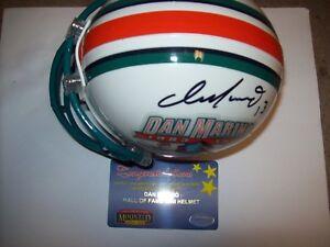 f03265a9c0b Image is loading Dan-Marino-Autograph-Signed-Mini-Football-Helmet-Miami-