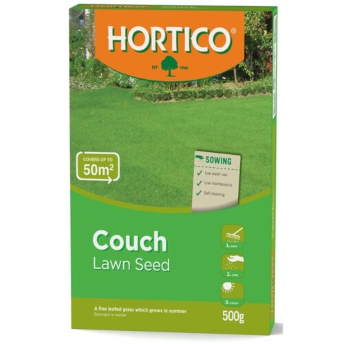 500g COUCH Lawn Turf Grass Seed Blend Vigorous Hard Wearing Low Water Required
