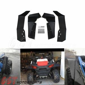 UTV Fender Flares Flaps for Off Road 2015-2018 Polaris RZR-S 900 RZR-S 1000