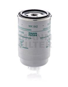 Mann Kraftstofffilter WK842 passt für Case IH - MC Cormick 300 - 1000 Serie