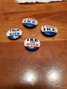 I Like Ike & Dick Presidential Political Campaign Pin ...