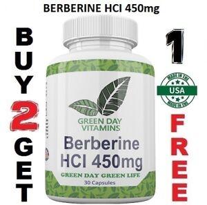 Berberine-HCI-450mg-Depression-Cholesterol-Heart