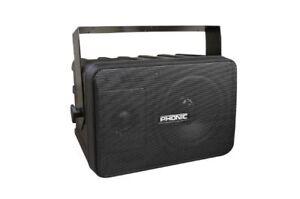 Pair-Of-Phonic-SE-206B-5-1-4-034-2-Way-Molded-Speakers