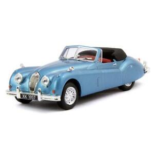 Jaguar-XK140-Roadster-1957-escala-1-43-por-Ediciones-Atlas