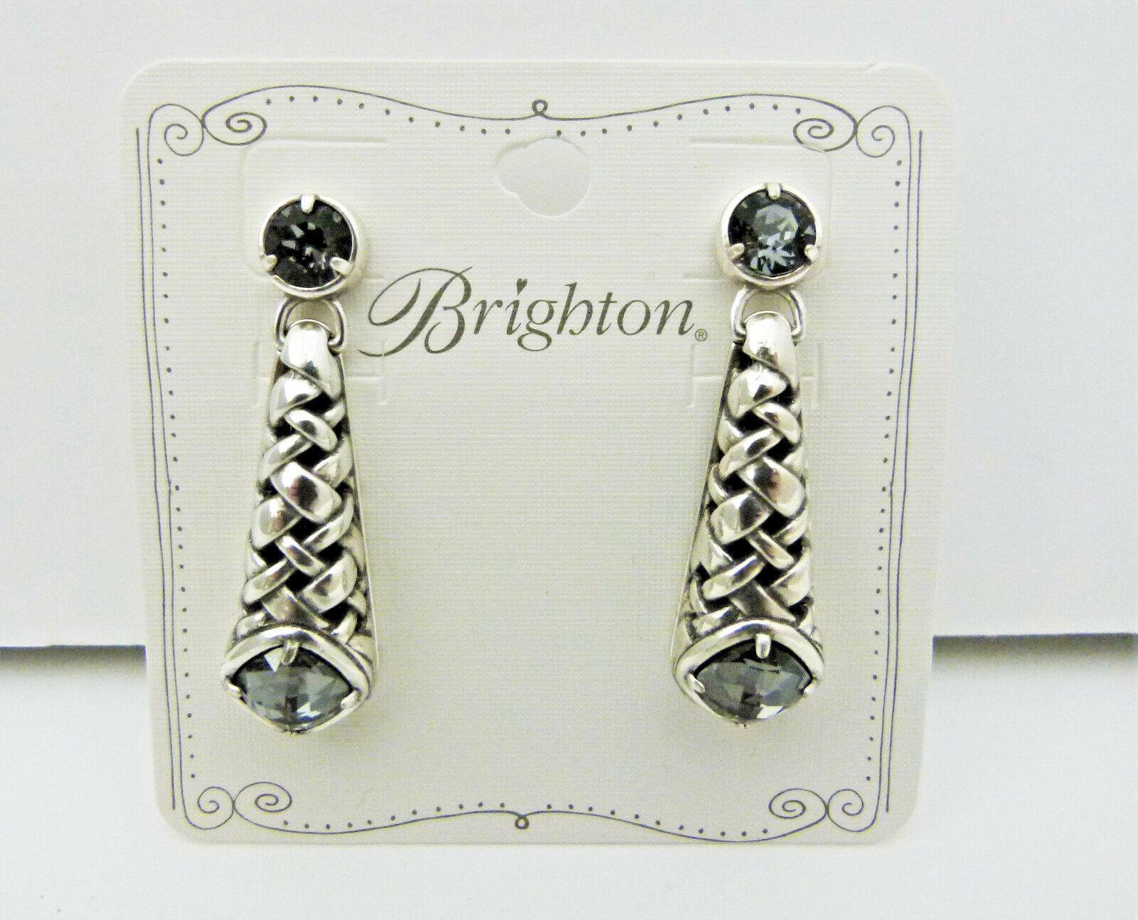 Brighton Paris Cafe Figaro Post Drop Earrings NWT