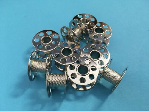 10 Bernina Spulen CB Spulen Metall für Bernina Nähmaschinen Top Qualität