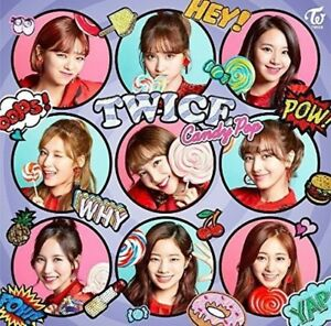 LIKE-New-TWICE-Candy-Pop-First-Press-Regular-Edition-CD-Card-Japan