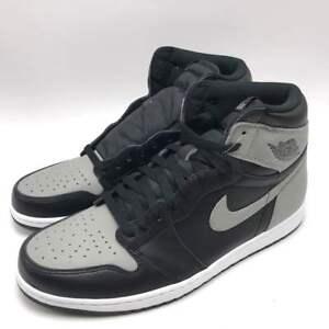 b517f58a71a Nike Air Jordan 1 Retro High OG Men s Shoes Black Medium Grey-White ...