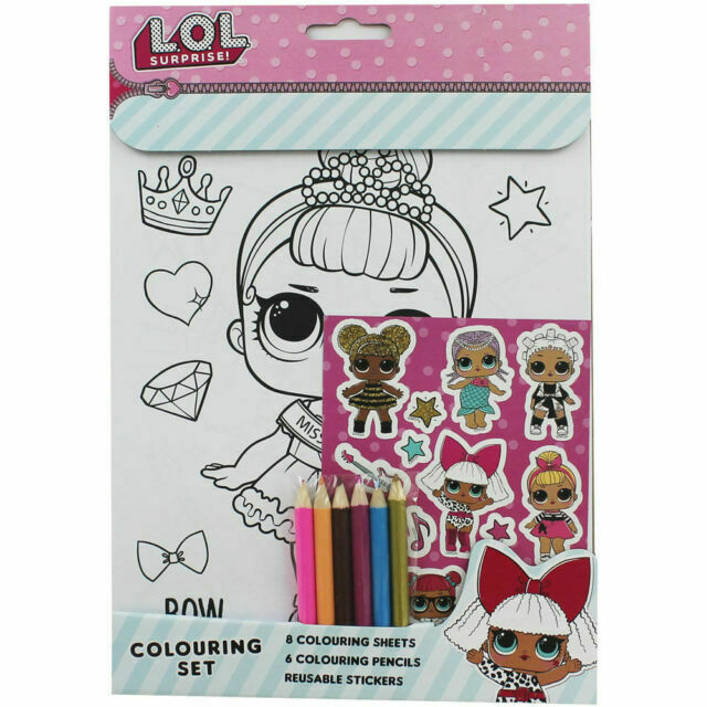 Lol Surprise Dolls Coloring Sheets