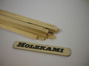 36mm x 1mm x 0.6mm  L//B//H  Neu Eiche Holzleisten  Eiche 250 Stück