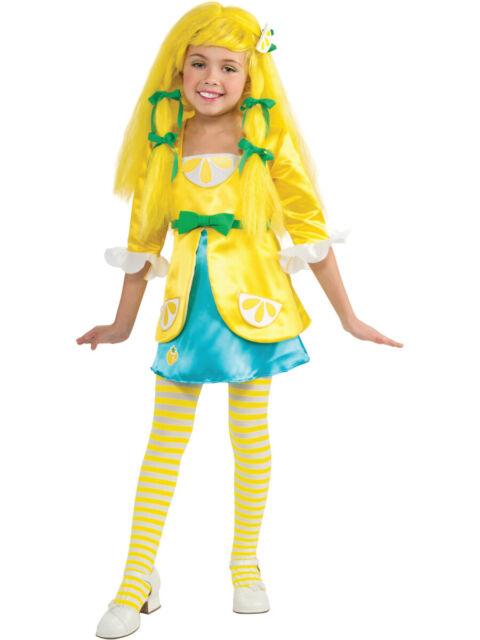 Size Small 4-6 Deluxe Strawberry Shortcake Costume Kids Girls Child Fast