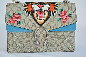 Gucci-Tiger-Dionysos-bestickt-Schultertasche