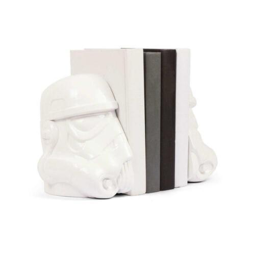 Star Wars Original Stormtrooper Bookends Home Decor Fan/'s Novelty Gift