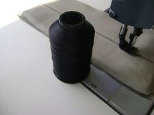 """#69 T-70 Black Nylon Bonded Thread 4Oz Upholstery Leather Canvas """"Made In USA"""""""