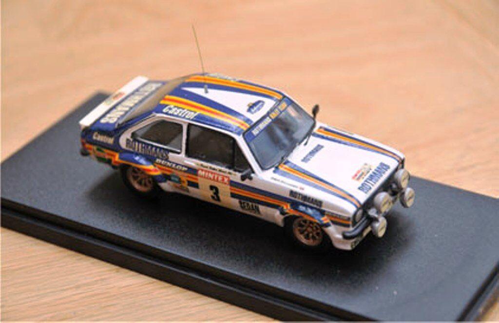 MOTOR PRO FORD ESCORT RS1800 Mk.2 model rally car Vatanen Richards redHMANS 1 43