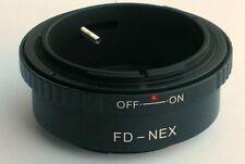 Canon FD Lens to Sony E Mount Adapter for NEX NEX-5R NEX-6 NEX-7 FD-NEX