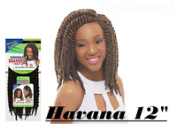 Janet Collection Noir 2x Havana Mambo Twist Braid 12 Hair