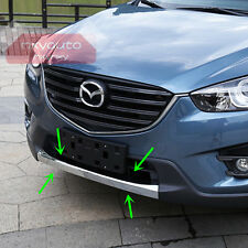Front Bumper Lower Grille Molding Chrome Trim For Mazda CX-5 2013 2014 2015 2016