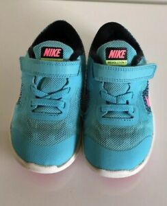 Details zu NIKE Revolution 3 Free Jungen Kinder Sneaker Schuhe Turnschuhe  türkis Gr. 25