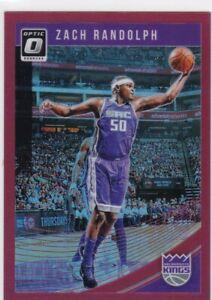 Zach-Randolph-2018-19-Donruss-Optic-Basketball-Cartes-a-Collectionner-Red