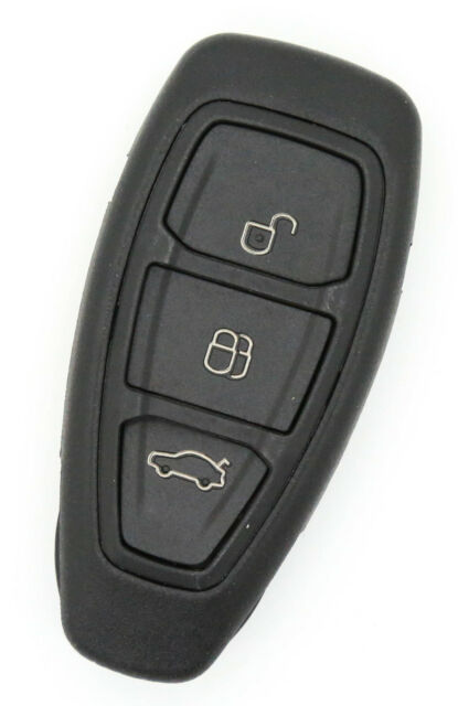 Fits Ford Ford Fiesta Focus Mondeo C-Max S-Max Galaxy 3 button Smart Key Case